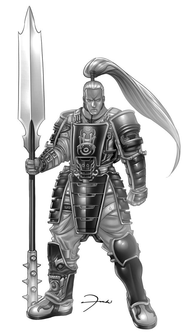 Exalted Armored Warrior by darkeyez07