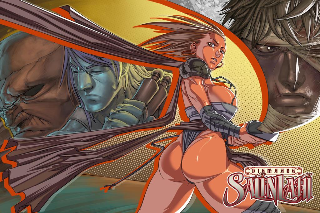DIGMAANG SALINLAHI 07 Cover by darkeyez07