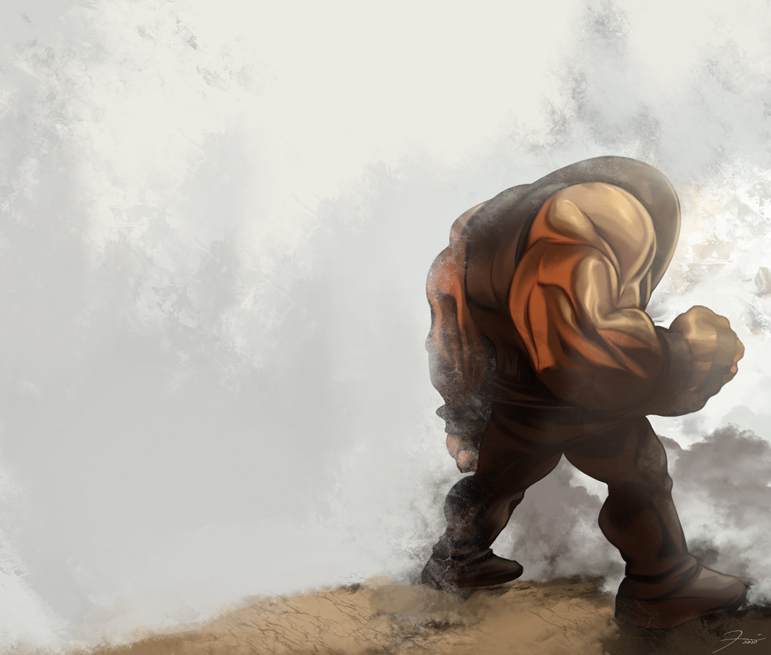 Juggernaut by darkeyez07