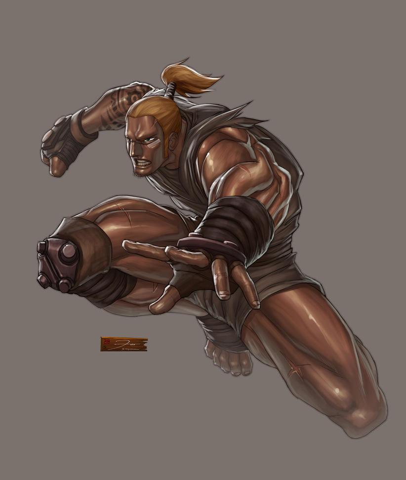 Adomorn Swordhand by darkeyez07