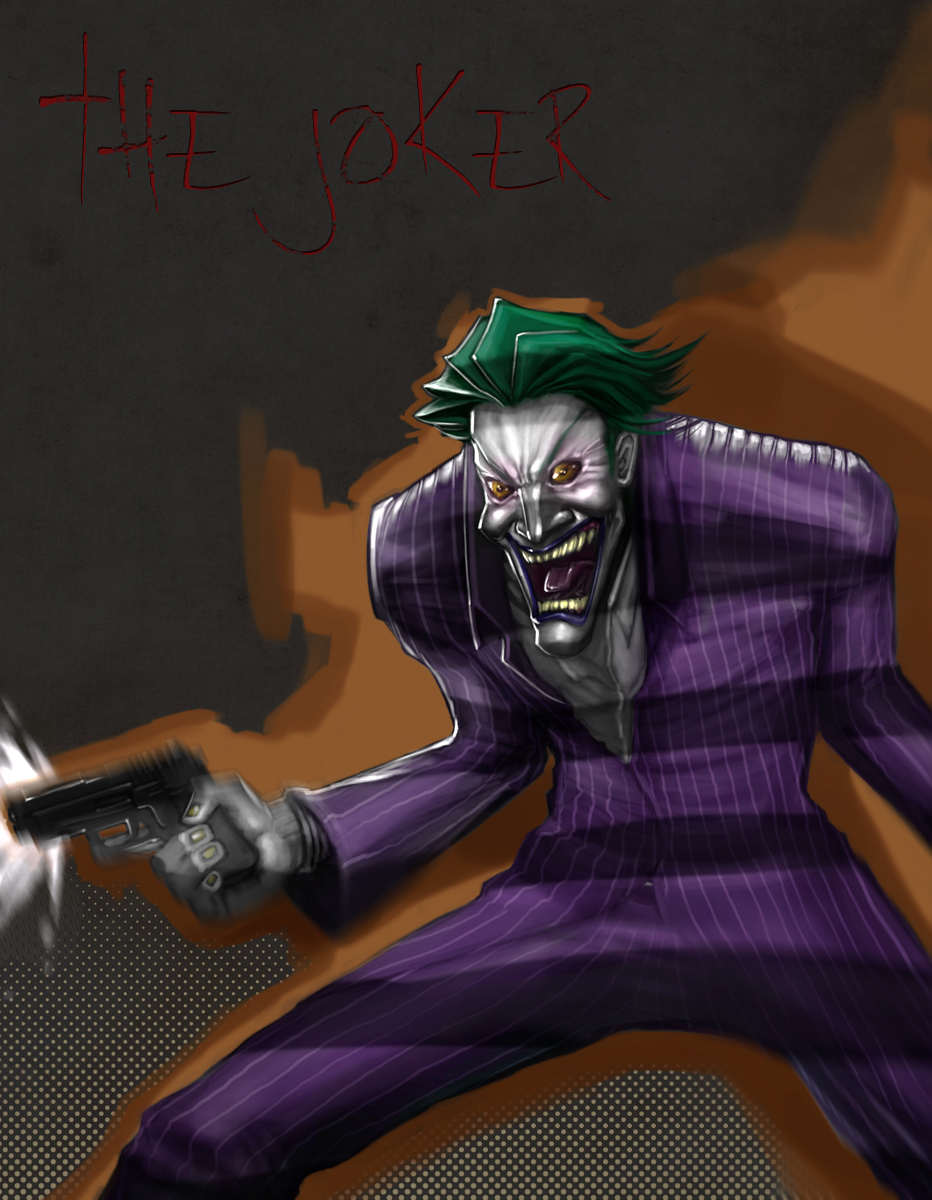 The Joker by darkeyez07