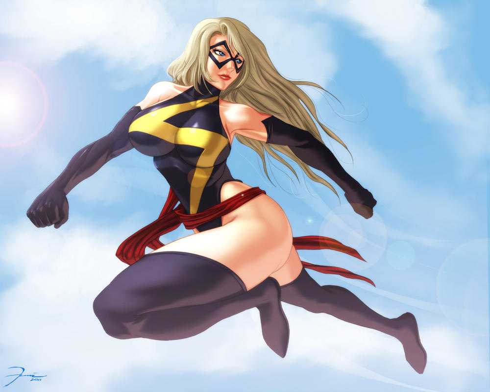 MS Marvel by darkeyez07