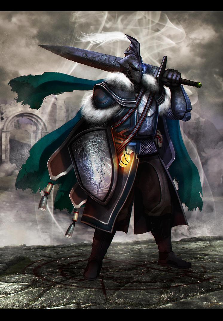 Dark Souls Knight by darkeyez07