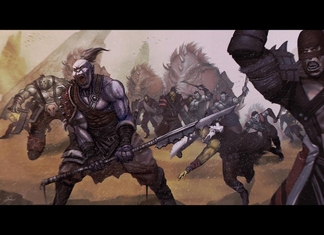 Orc Parteyyy by darkeyez07
