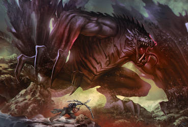 Some Dragon by darkeyez07