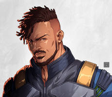 Killmonger by darkeyez07