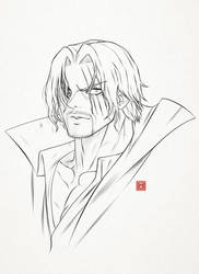 Shanks Quick Lineart