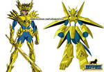 Saint God Cloth Odin Digimon Aiolia (Soul of Gold)