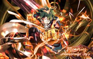 Deku Banner (Boku No Hero Academia) by AntaresHeart07