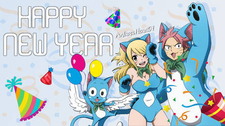 Anime Happy New Year! by AntaresHeart07