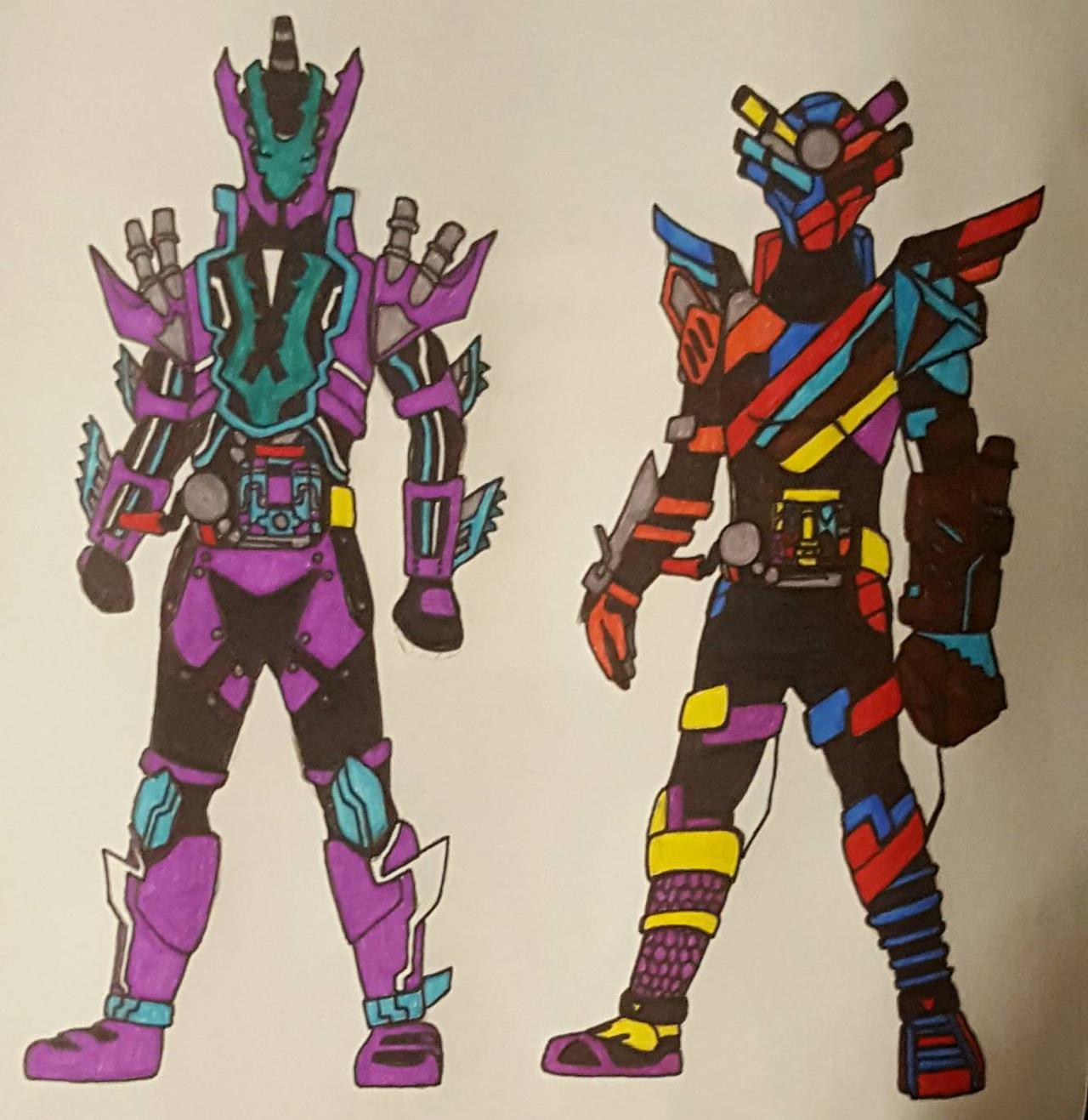 Kamen Rider Build Fake Forms By Den Ooo4799 On Deviantart