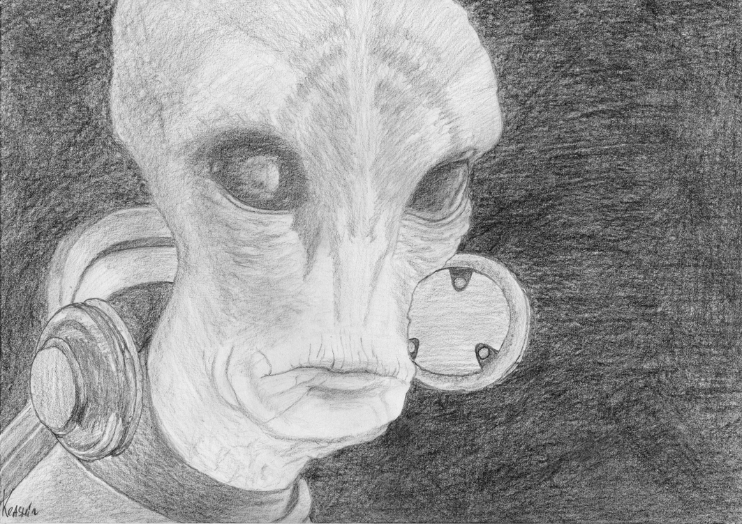 Scientist Salarian by Keashii
