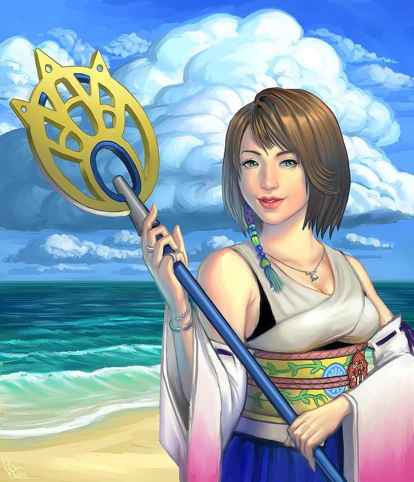 Summoner Yuna by EmperorAtma