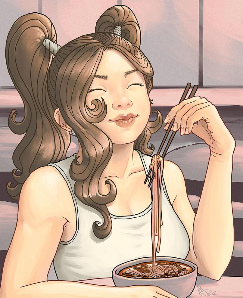 Spicy Beef Noodles by EmperorAtma