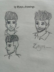 Zayn character design by JayaChamola