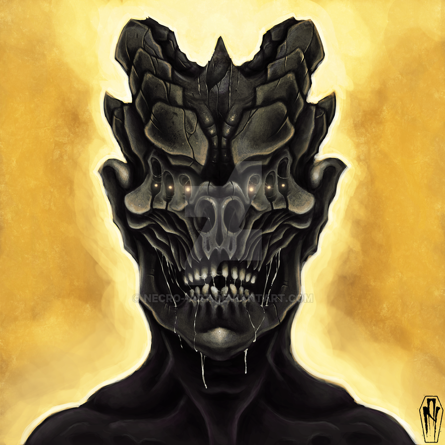 The Watcher by Necro--Art