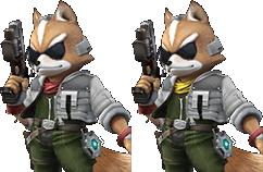 James McCloud (SSB4 alt costume idea for Fox) by Kirbysmith