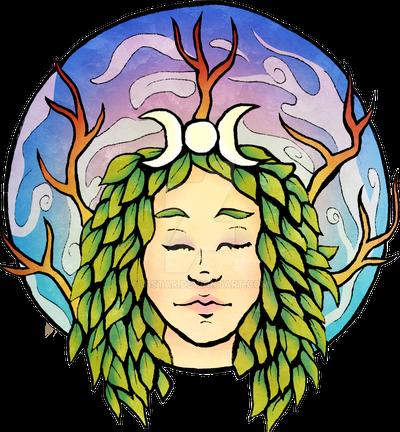 Green Goddess Logo by J1Star