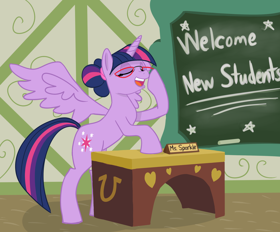 We're All Your Students Now by SlipSketch