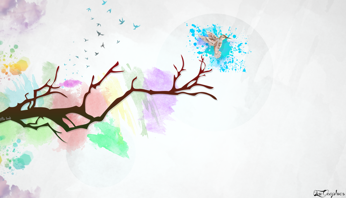Abstract Creativity Wallpaper HD Colorss By Ovii Graphics