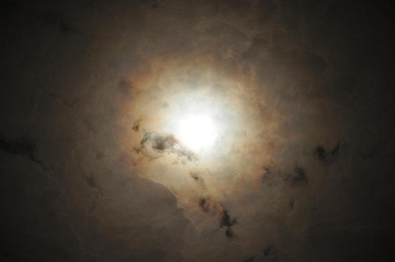 Overexposed Moon by YuasaHiromi