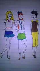 Fashion trio by andrea-gould