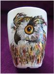 Eagle-owl by Xantosia