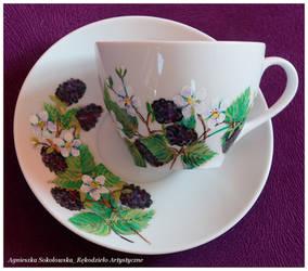 Blackberries by Xantosia