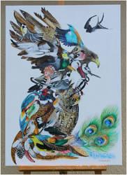 Simurg by Xantosia