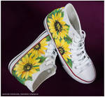Sunflowers by Xantosia