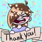 Deviantart Thanks by 0013Starri