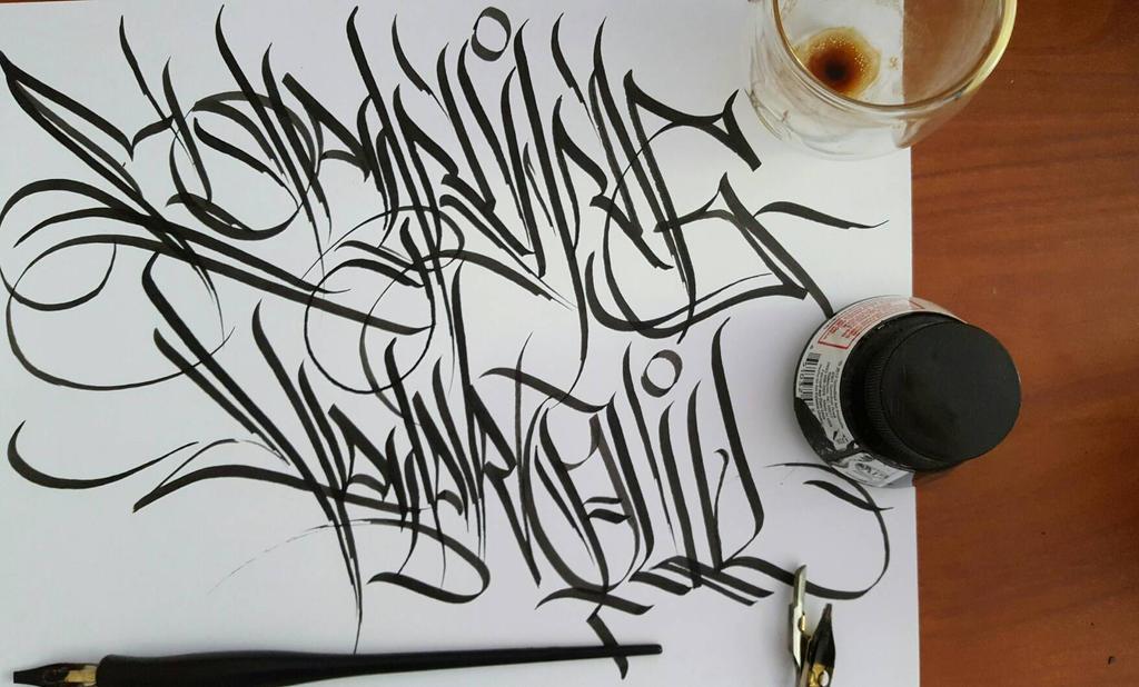 misc calligraffiti by artbycarltz