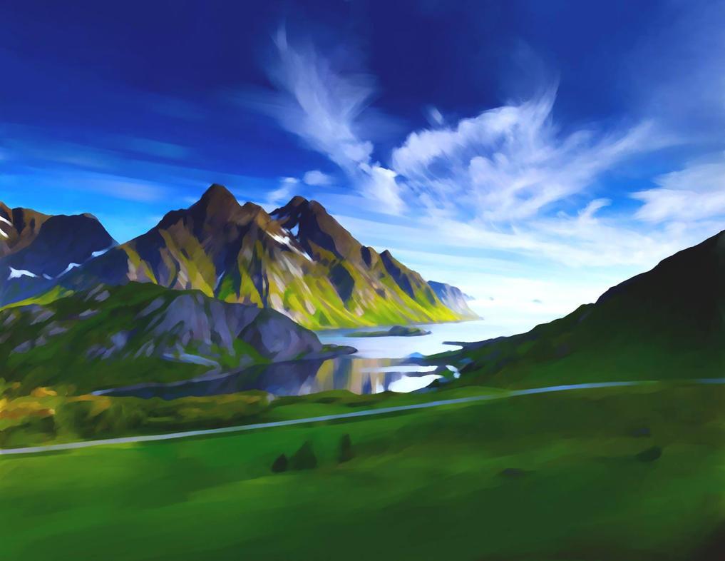 Landscape Painting by pt83730