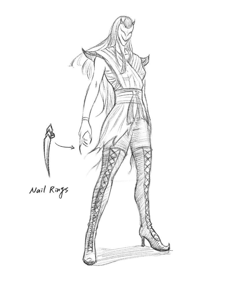 Character Design_Villain by pt83730