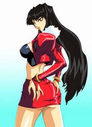 Kubira Wearing a red jacket by 5Legacy