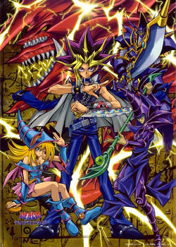 Atem and His Duel Monsters