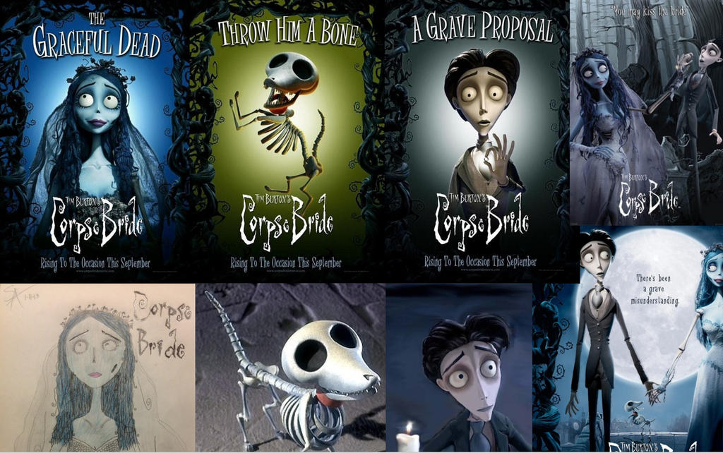 Corpse Bride collage by SamApeace on DeviantArt
