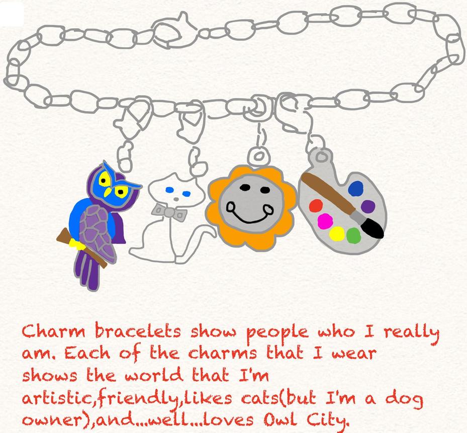 charm bracelet meaning by samapeace on deviantart