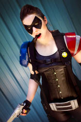Comedian Cosplay from Watchmen by leAlmighty