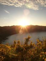Sunset from Beni Said by yuushi01