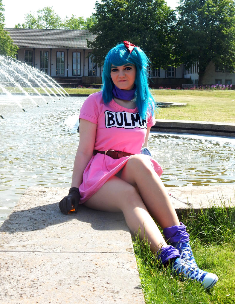 Bulma Briefs Cosplay by Kuchendiebin