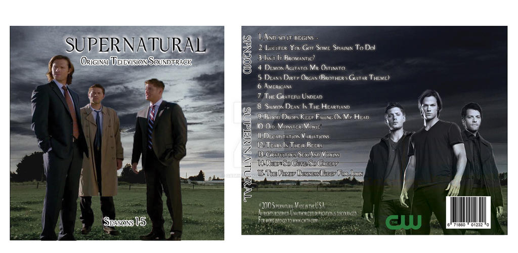 Supernatural CD Cover by Gabriel-loki on DeviantArt