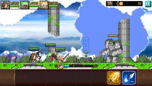 Crusaders Quest Mock-Up - Sky Ruins