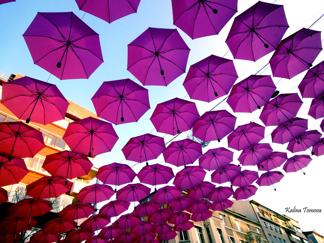 Butterflies * umbrellas by tuti-fruti-00