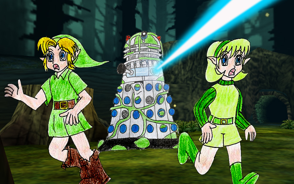 Link and Saria's discovery part 4 by Animedalek1