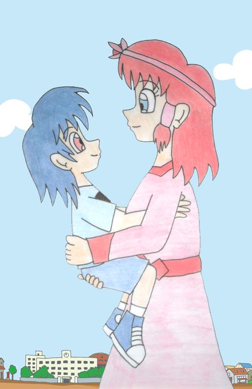 Human LBT Ruby and Chomper bonding by Animedalek1 on DeviantArt