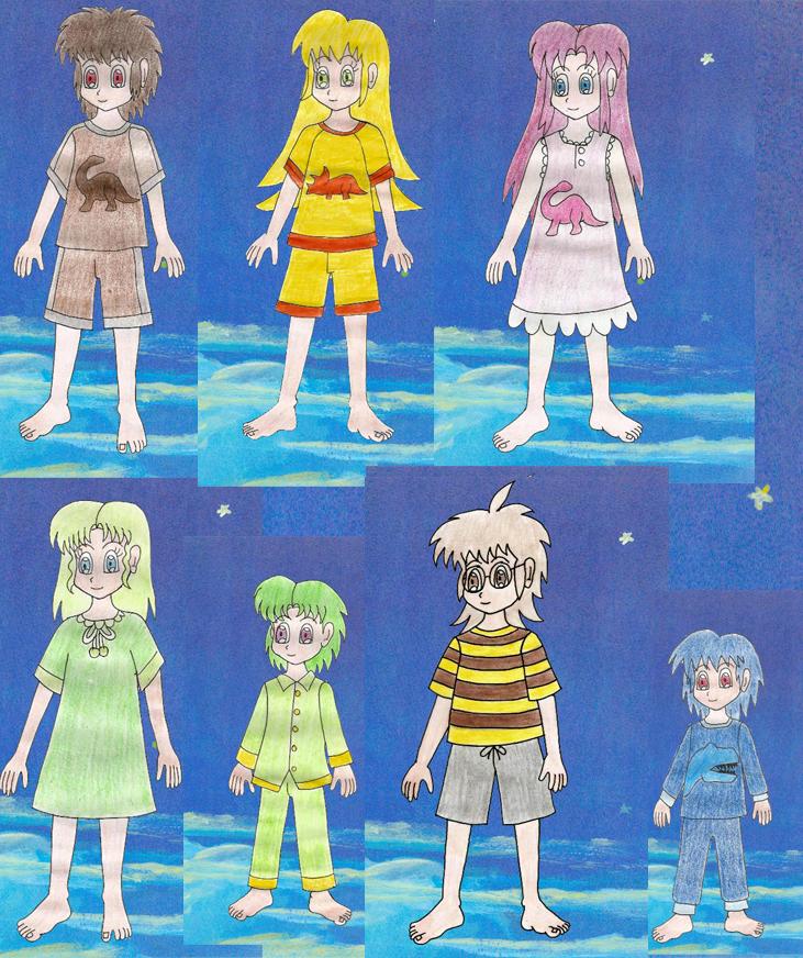 Human LBT gangs new nightwaer by Animedalek1