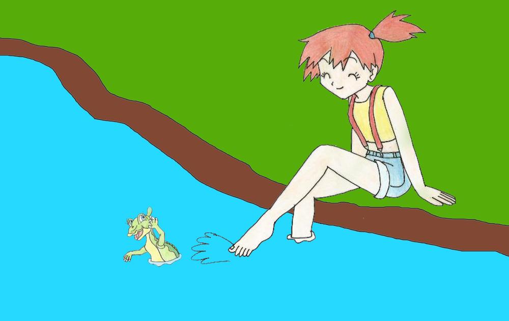 Misty and Ducky by Animedalek1