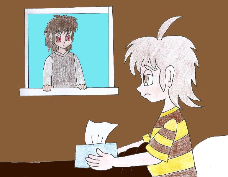 Human LBT Petrie has a cold by Animedalek1