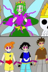 Poisonthorn brainwahses the poke-trio by Animedalek1